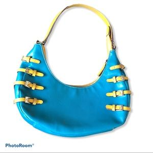 CHINESE LAUNDRY teal purse